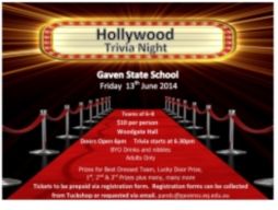 Hollywood Trivia Night